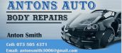 ANTON'S AUTO BODY REPAIRS KNYSNA