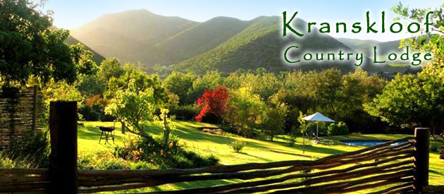 KRANSKLOOF COUNTRY LODGE, OUDTSHOORN (15km)