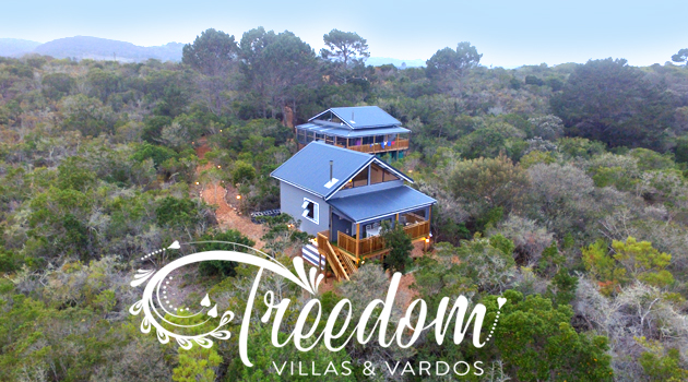 TREEDOM VILLAS & VARDOS, WILDERNESS