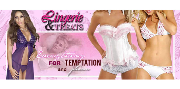 LINGERIE AND TREATS - ONLINE STORE