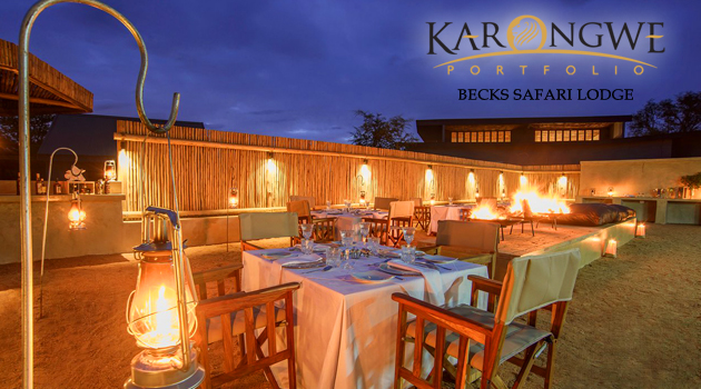 KARONGWE PORTFOLIO - BECKS SAFARI LODGE