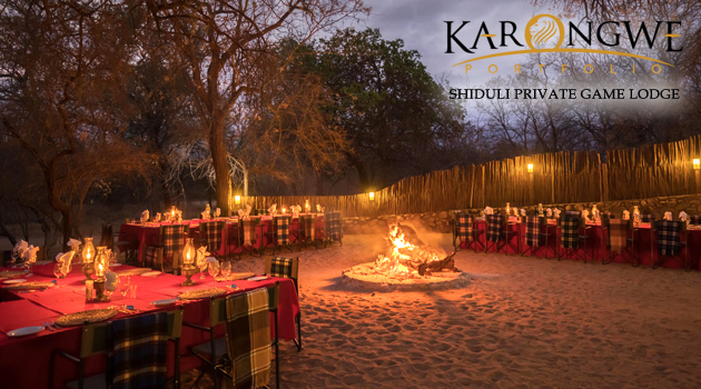 KARONGWE PORTFOLIO - SHIDULI PRIVATE GAME LODGE