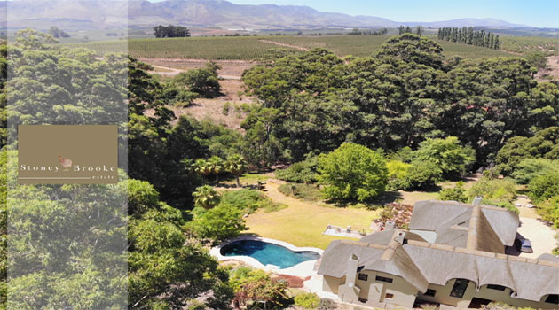 STONEY BROOKE - LUXURY COUNTRY VILLA FOR SALE IN THE ELGIN VALLEY