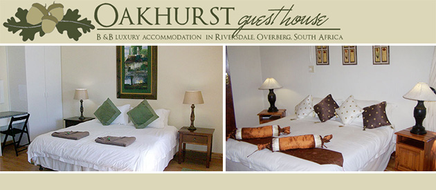Oakhurst Bed And Breakfast Riversdale