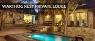 Accommodation Special At Warthog Rest Private Lodge