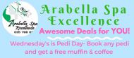 FRIDAY'S COUPLE DAY SPECIAL AT ARABELLA SPA EXCELLENCE